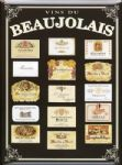 Elegant Chic French Metal Beaujolais Region Wine Sign